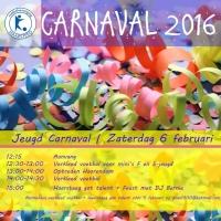 Carnavals zaterdag Mini's t/m A-jeugd